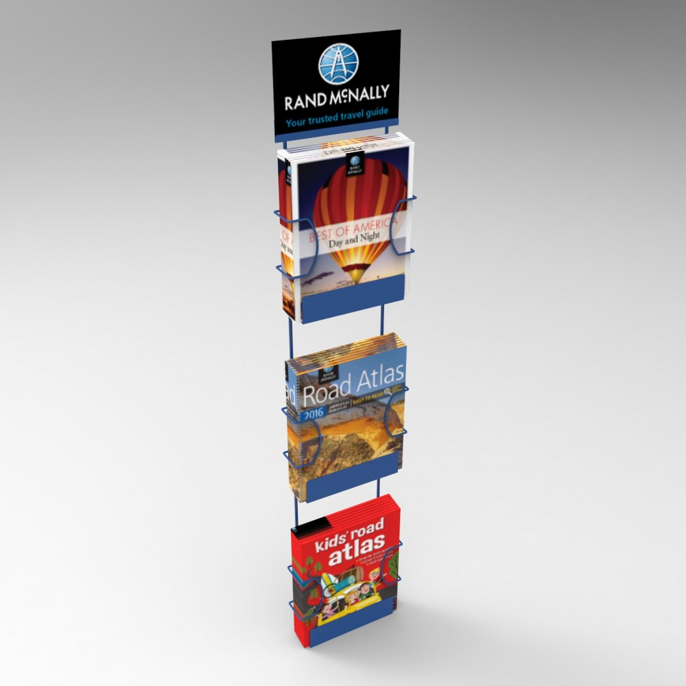 3-Slot Stringer - Hangs on existing store fixtures