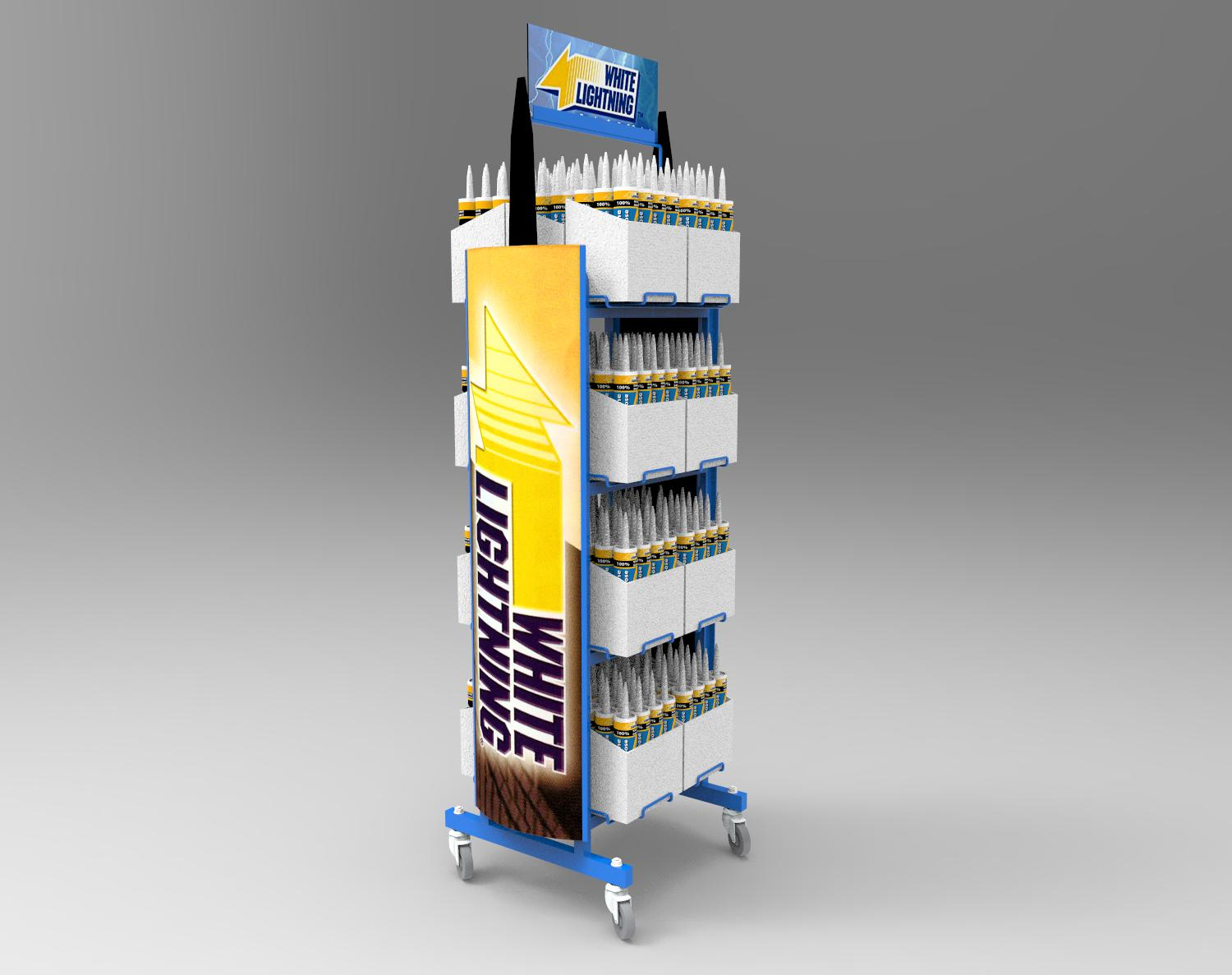 Rolling Rack - Featuring shaped, dimensional side graphics