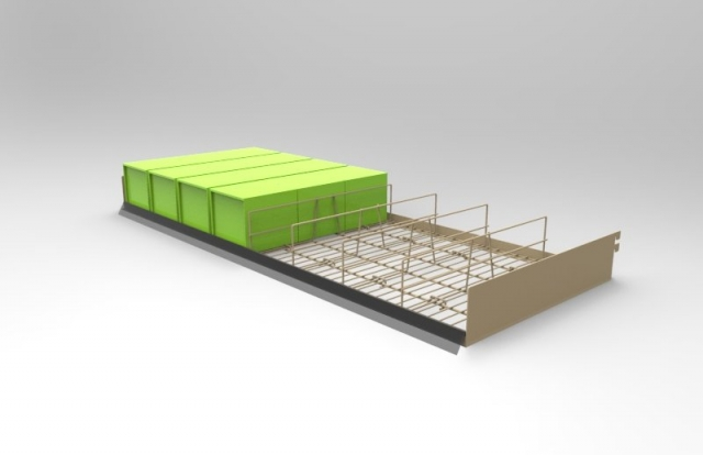 Wire Grid Shelf
