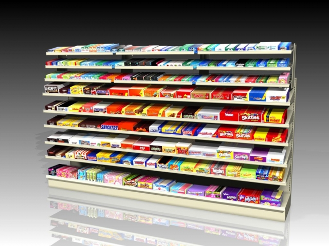 Gondola Add-on Shelves