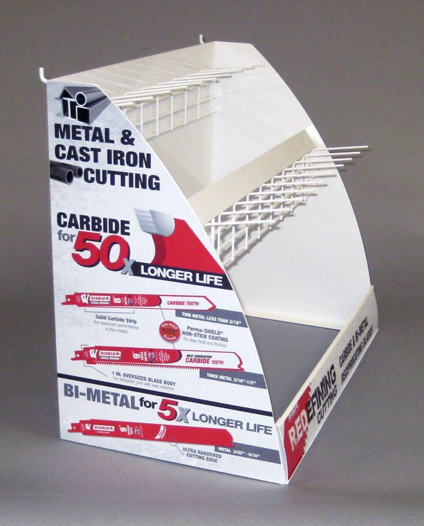Counter Display-Saw Blades