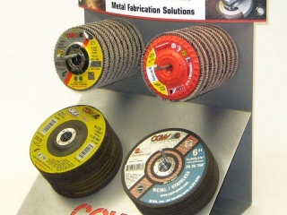 Counter Display for Grinding Wheels