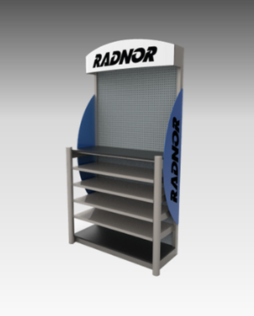 Design & engineering for custom product displays.